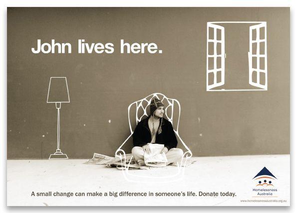 Homelessness Australia by Patricia Saito, via Behance ...
