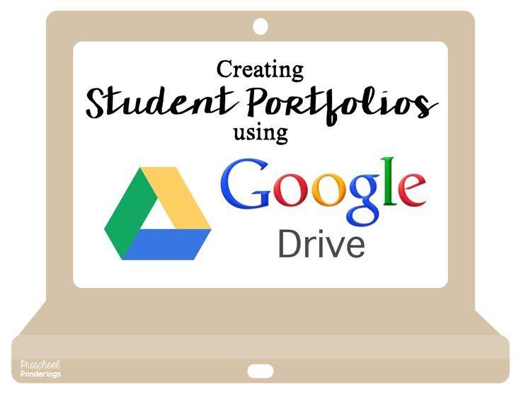 Google Drive Student Portfolios