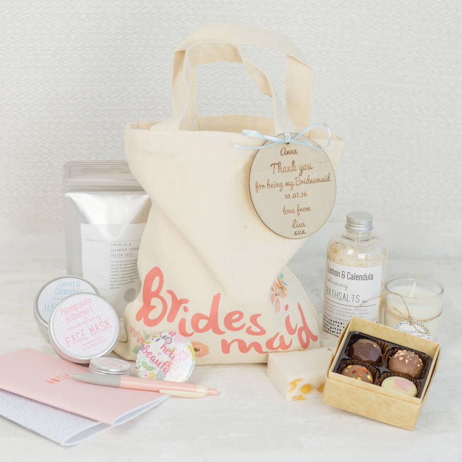 Create Your Own Personalised Bridesmaid Gift Bag | Wedding, Wedding ...