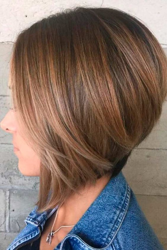 Inverted Bob Hairstyles 25 Cute Bob Haircuts For Fine Hair  Inverted Bob Haircuts