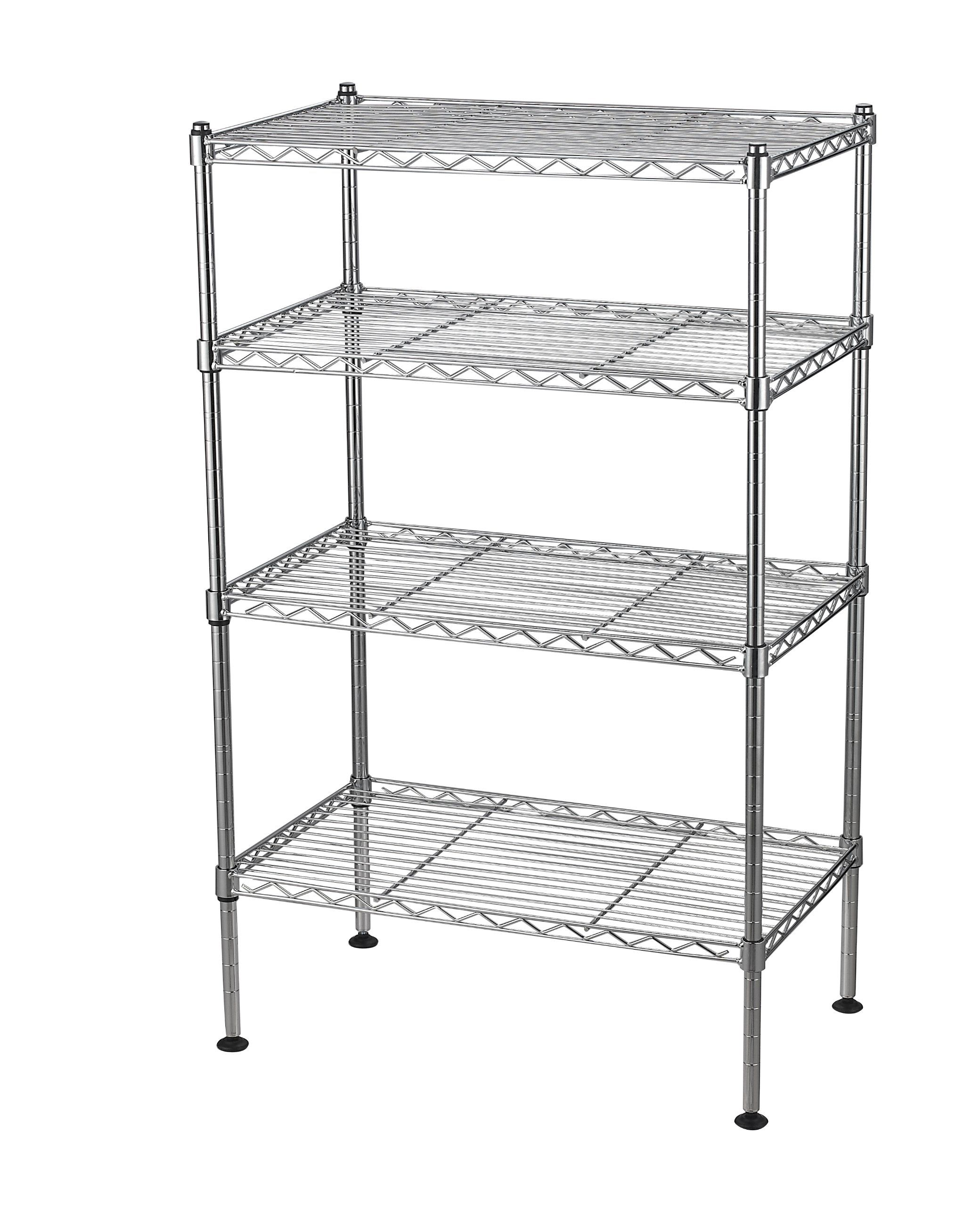 Sandusky Lee Ws201232 C Industrial Welded Wire Shelving 20 Quot Width X 32 Quot Height X 12 Quot Depth Chr Wire Shelving Units Wire Shelving Shelving Unit
