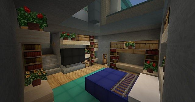 Minecraft Furniture - Fireplaces I\'m jealous of this.. I suck at ...