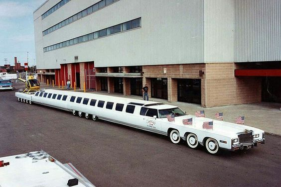 The Longest Car In The World With A Swimming Pool Weird