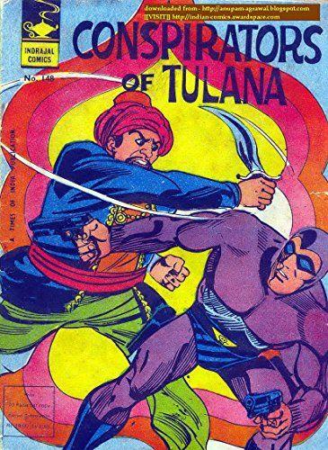 Indrajal Comics 148 Phantom Gem Conspirators Of Tulana