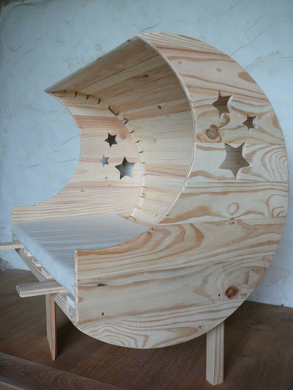 lit b b cododo version lune lit bebe lune et lits. Black Bedroom Furniture Sets. Home Design Ideas
