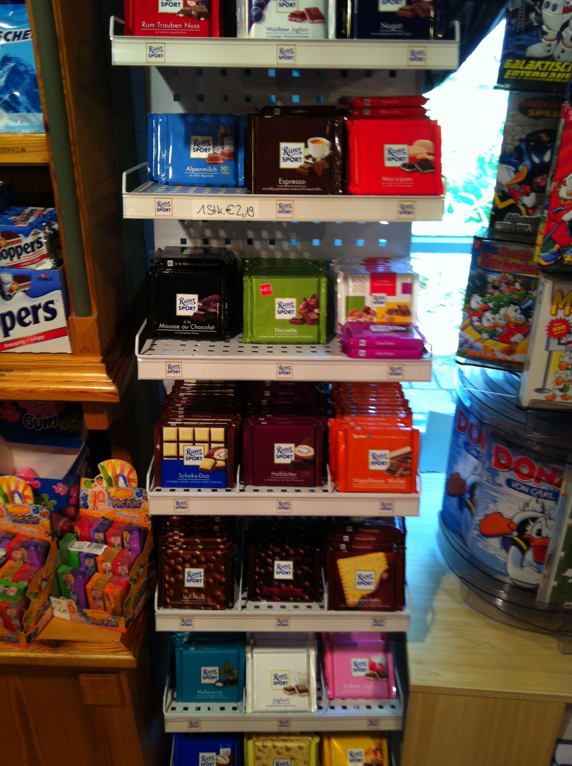 CHOCOLATE. Ritter Sport! Gaming products, Arcade games