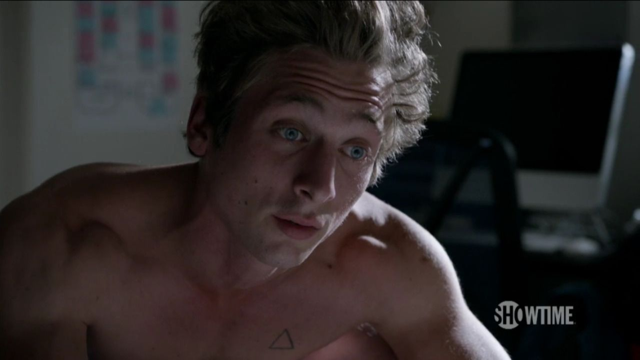 "Jeremy Allen White as Phillip ""Lip"" Gallagher in Shameless US"
