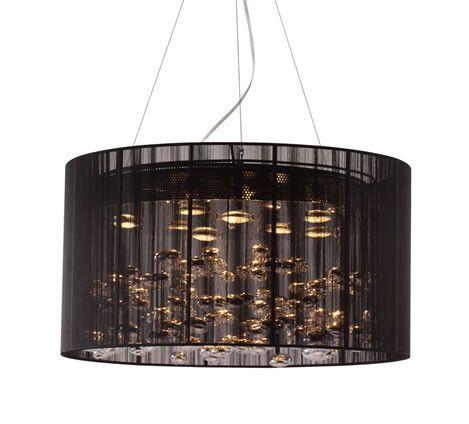 Zuo Modern Symmetry Ceiling Lamp Black