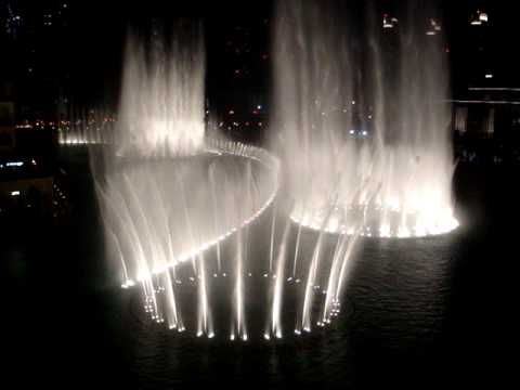 "Christopher Tin's ""Baba Yetu"" synced with the Dubai Fountain. I find this absolutely stunning."