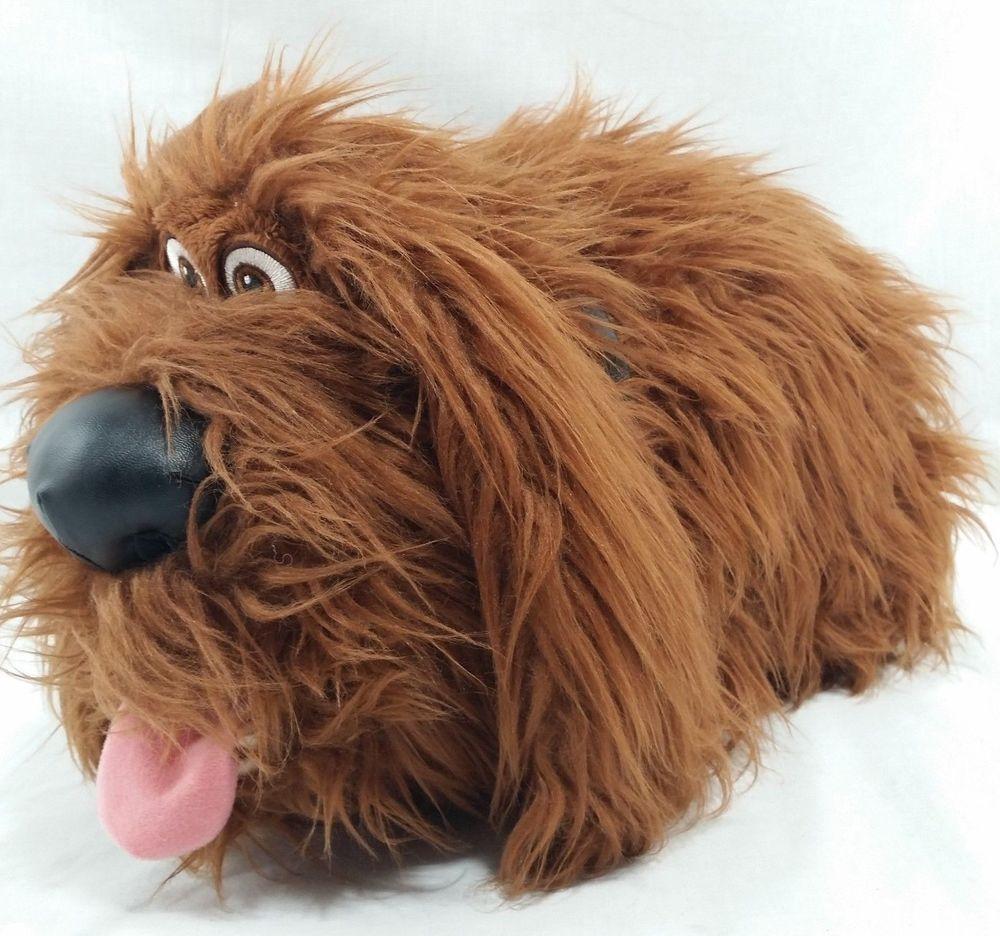 Duke Plush Secret Life Of Pets Stuffed Animal Brown Dog Mutt Large
