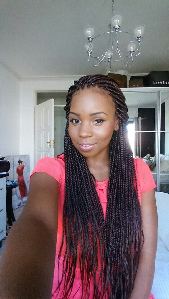 Box Braids With Xpression Mesh Indian Human Hair Extensions