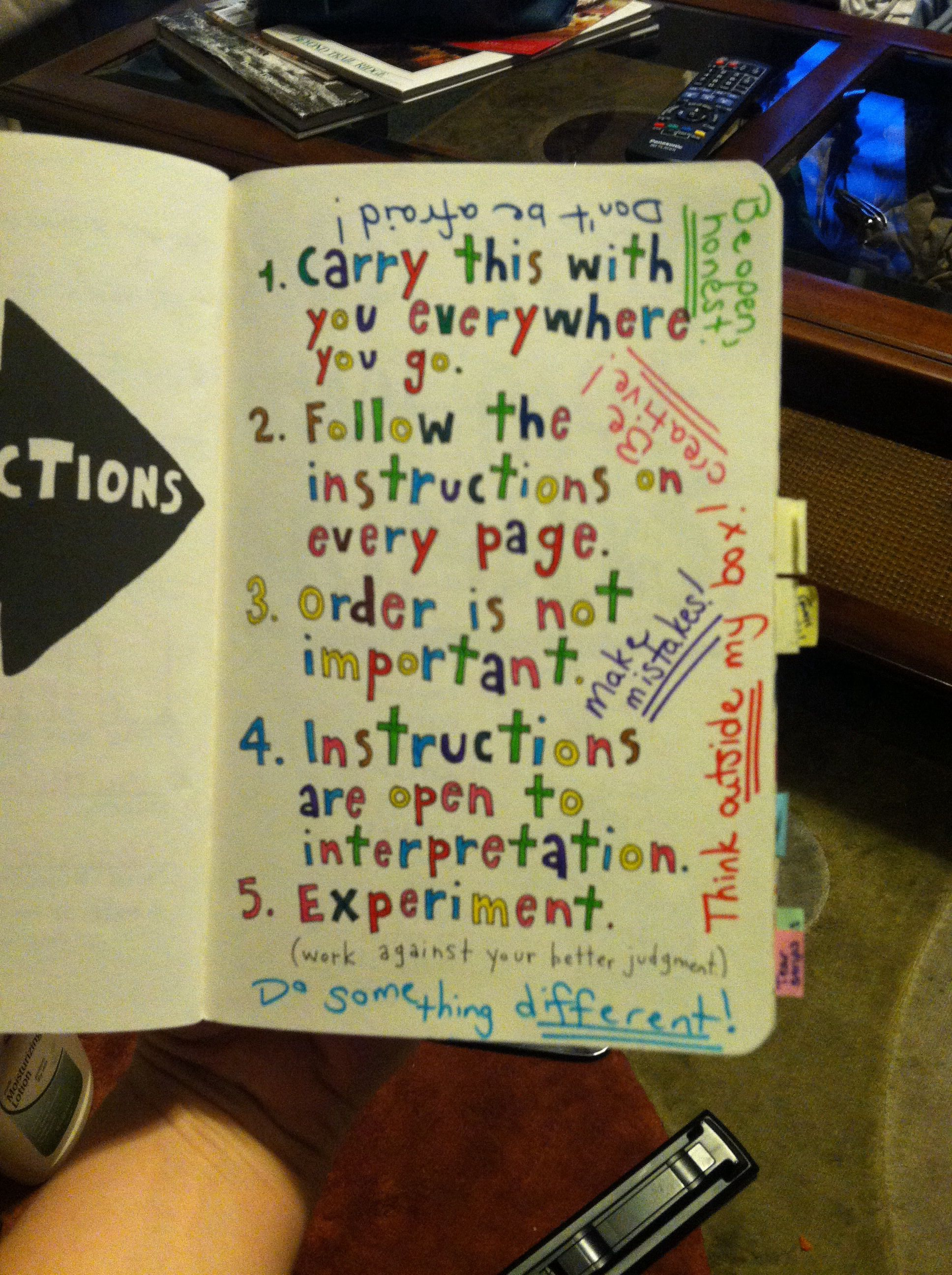 wreck this journal instructions photo