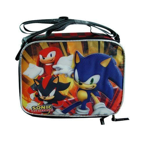 Sonic The Hedgehog Insulated Lunch Box Knuckles Shadow Carrying Bag Sonic The Hedgehog Lunch Box Insulated Lunch Bags Insulated Lunch Box