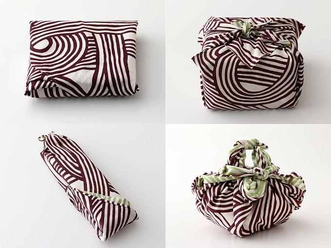 FUROSHIKI Wrapping Fabric - MUSUBI GARA - JAPANESE GREEN TEA | HIBIKI-AN