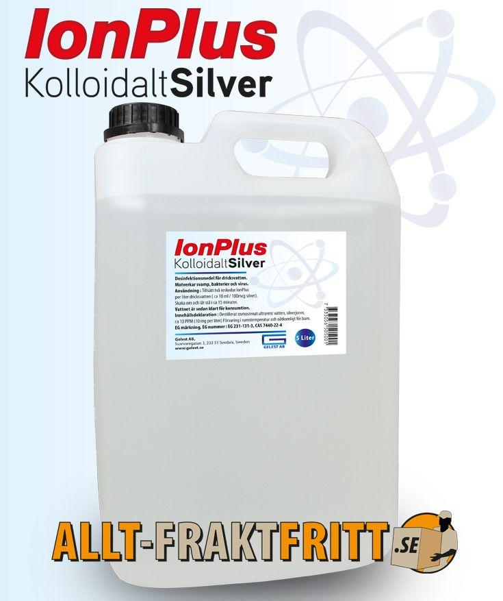 kolloidalt silver vatten