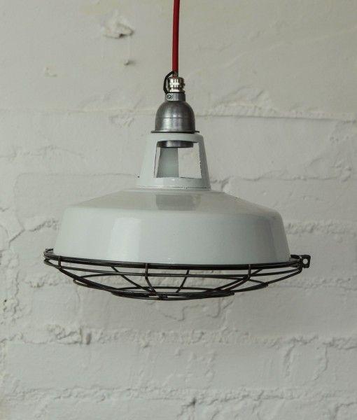 Russian Industrial Pendants: FARSLEY Enamel Ceiling Light