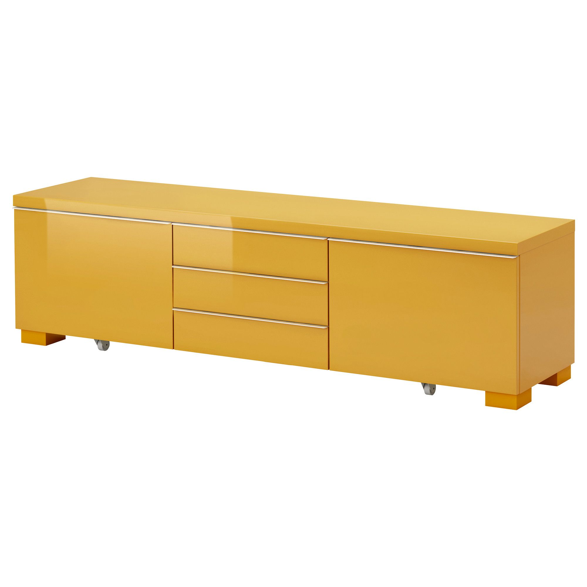 Ikea Tv Sideboard BestÅ Burs Tv Unit High Gloss Yellow Ikea 249 70 7 8 X 16 1
