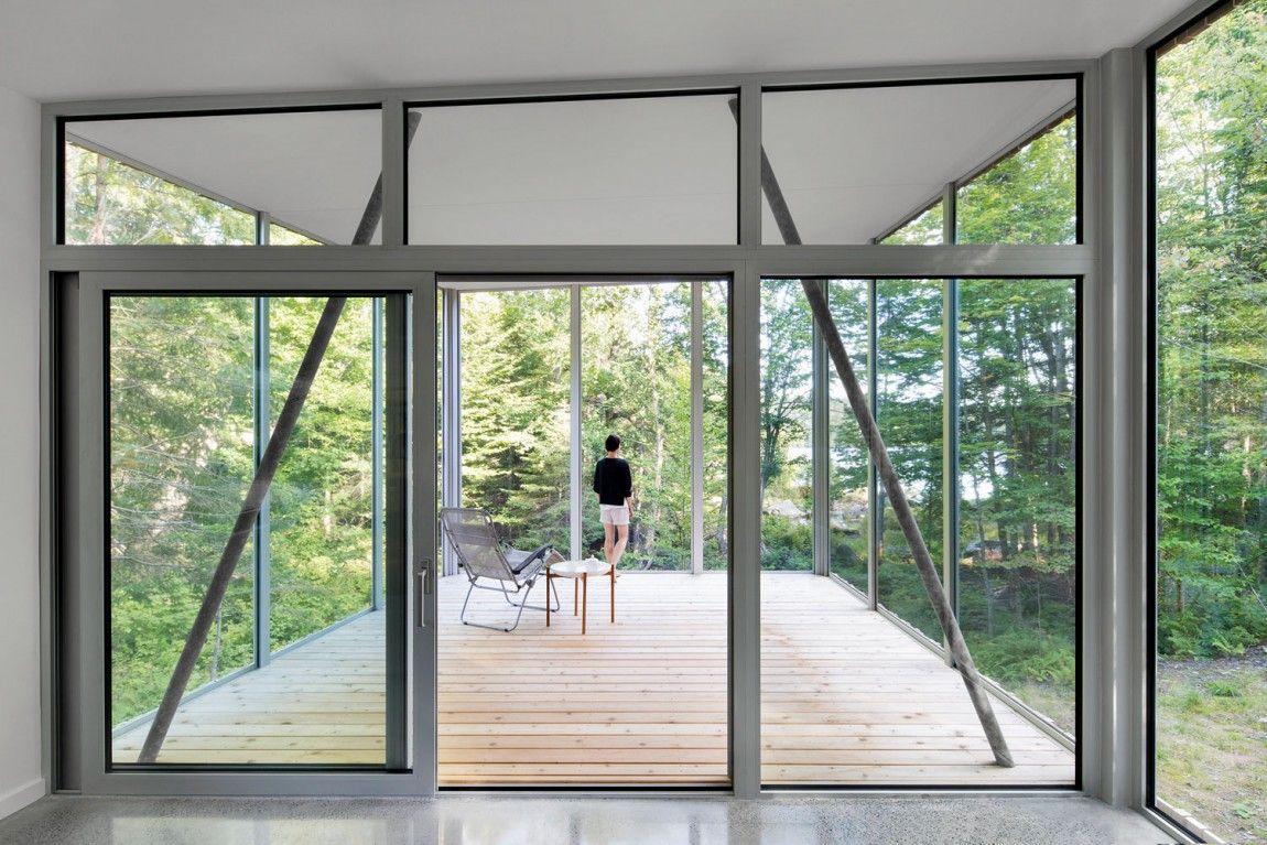 House on lac grenier by paul bernier architecte home design