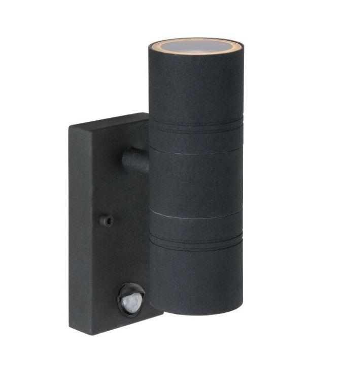 Buitenlamp Met Sensor Zwart.Achek Buitenlamp Zwart Met Bewegingsmelder Buitenlampen Met
