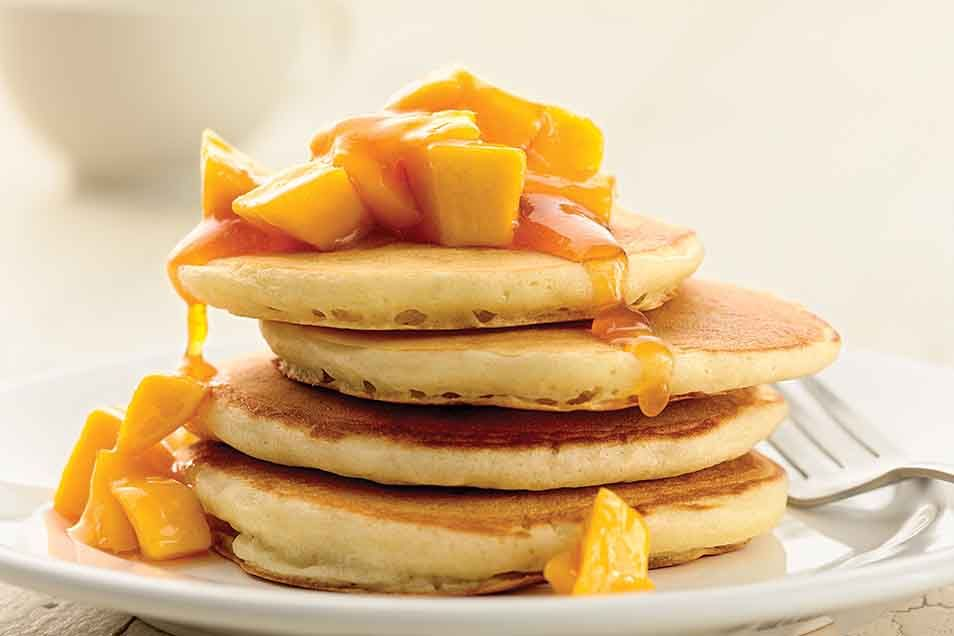 Self Rising Light And Fluffy Pancakes Recipe King Arthur Flour Quick And Delicious Home Light And Fluffy Pancakes Fluffy Pancake Recipe Sweet Pancake Recipe