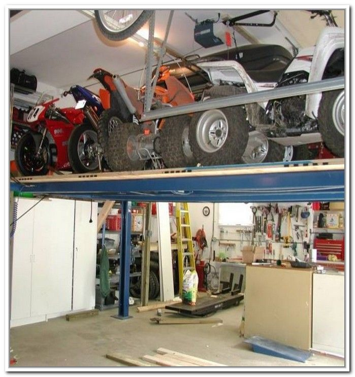 Lift Atv To Loft Google Search Motorcycle Garage