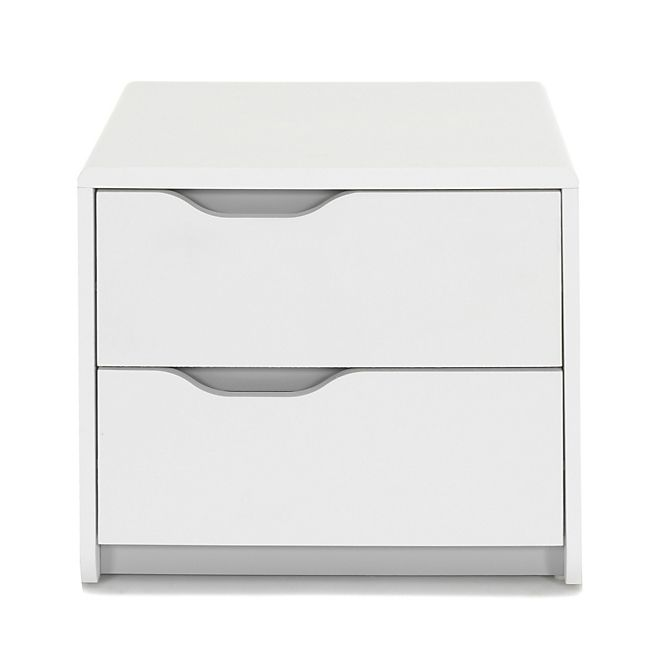 cool table de chevet blanche 2 tiroirs - Table De Chevet Tiroir