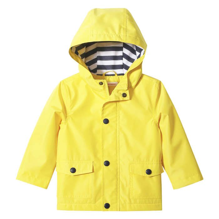 cb1c1a4ea Baby Boys' Rain Jacket from Joe Fresh. Bring on spring showers! Our sunny yellow  jacket cheers up a rainy day. Only $26.
