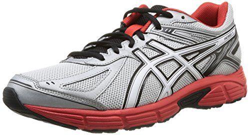 the latest 5f0ca 13270 Asics Patriot 7 - Zapatillas de running para hombre, color Silver Wht Red