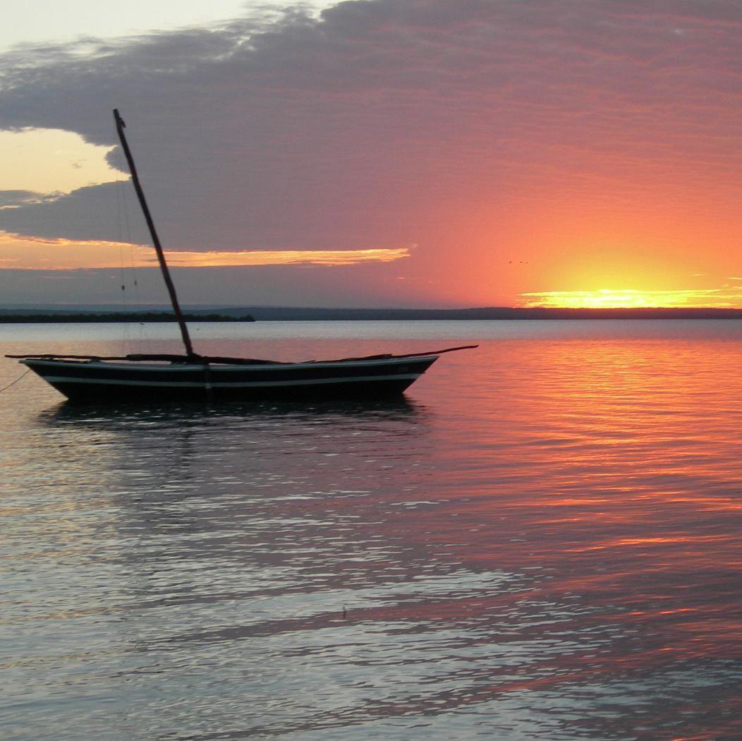 Deserted Island Beach: Ibo‑Island,Mozambique