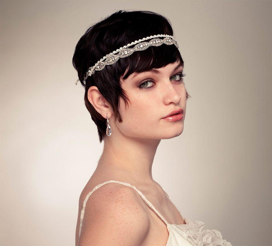 bridal hairdos for short hair | wedding hairstyles for short hair