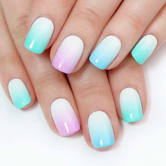 21 Cool Designs For Gel Nails For A Fun New Manicure Pinterest