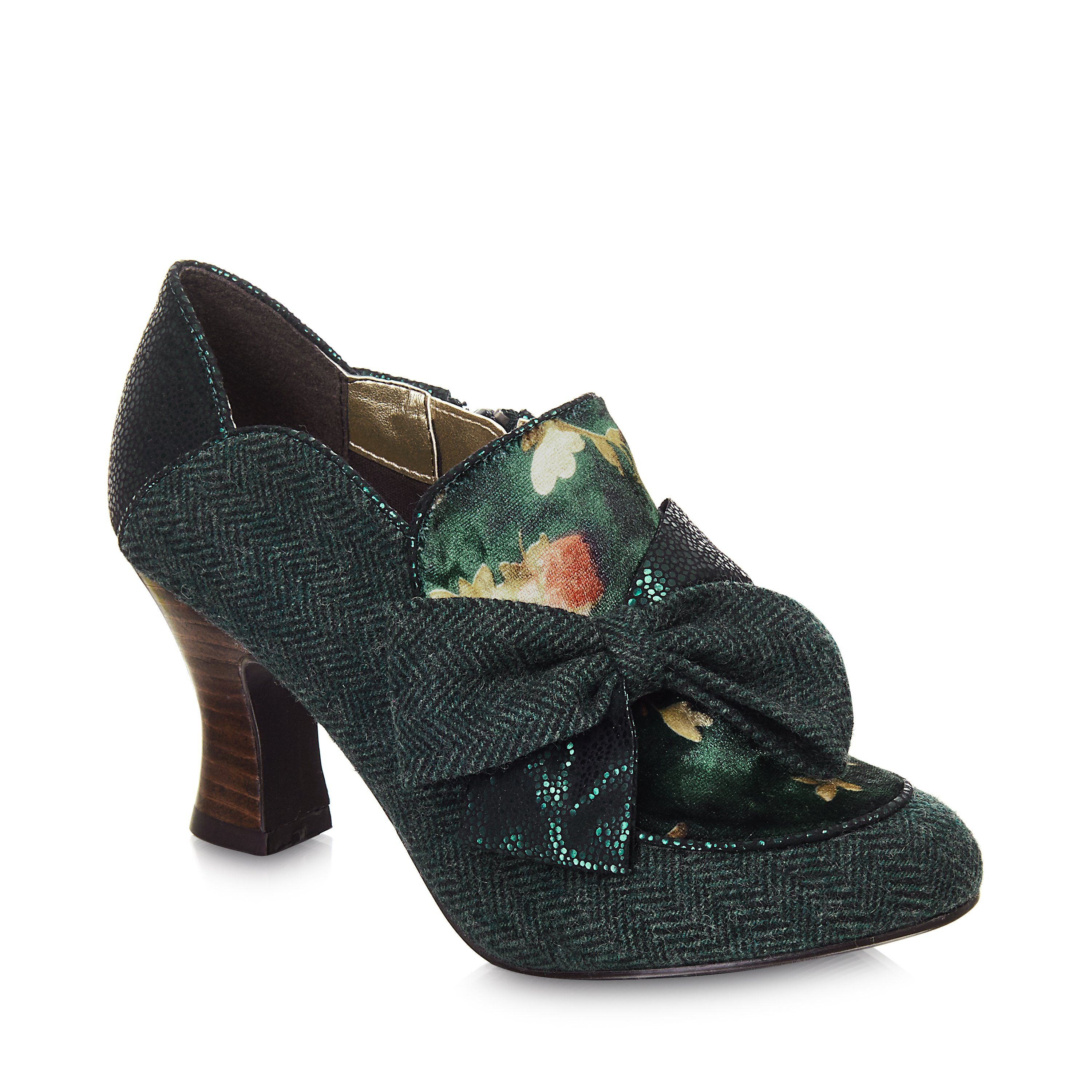 fe58def59cc Ruby Shoo Astrid Vintage 1920s Green Shoe Boot in 2019   1920s in ...
