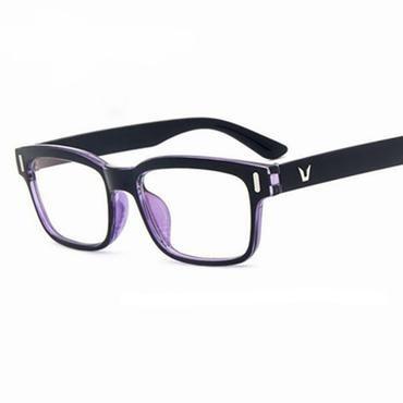 a24677bd830 Eyeglasses Men Brand Frames Women Half Rim Clear Lens Eye Glasses Frames  For Women Female Spectacle Frame myopia VV