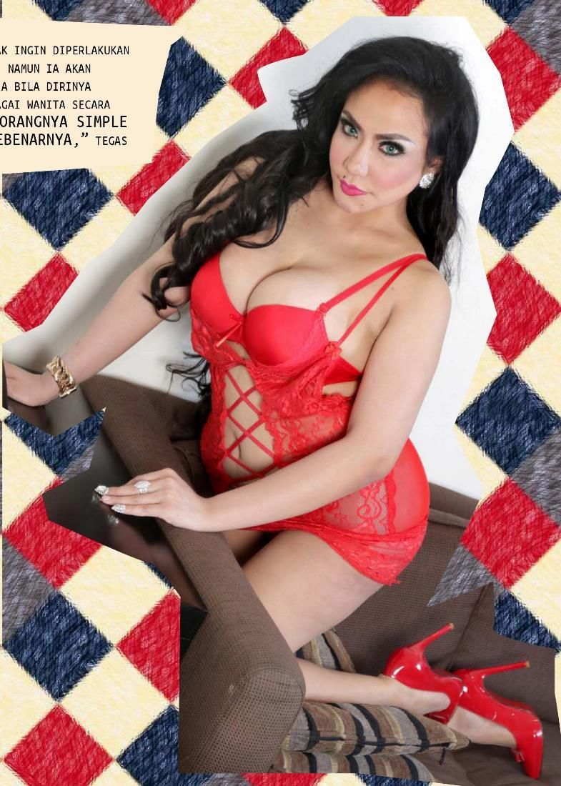 Foto Sexy Angelica Zubir Di Max Magazinehot News Is Hotabis Com Hot