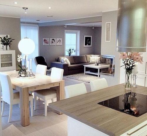 Sala Soggiorno Arredamento.Sala Dois Ambientes Rooms Idee Per Soggiorni