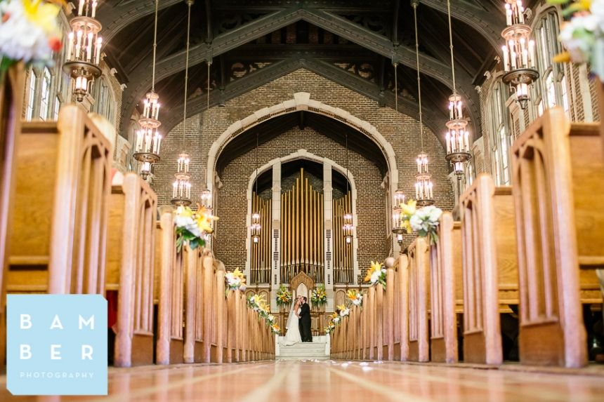 Evan Tosha married Patten Chapel UTC Chattanooga Weddings