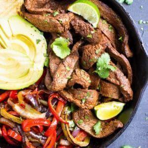 Easy Steak Fajitas #steakfajitarecipe A large cast-iron skillet with an easy steak fajita recipe and vegetables. #steakfajitarecipe Easy Steak Fajitas #steakfajitarecipe A large cast-iron skillet with an easy steak fajita recipe and vegetables. #beeffajitamarinade Easy Steak Fajitas #steakfajitarecipe A large cast-iron skillet with an easy steak fajita recipe and vegetables. #steakfajitarecipe Easy Steak Fajitas #steakfajitarecipe A large cast-iron skillet with an easy steak fajita recipe and ve #beeffajitarecipe