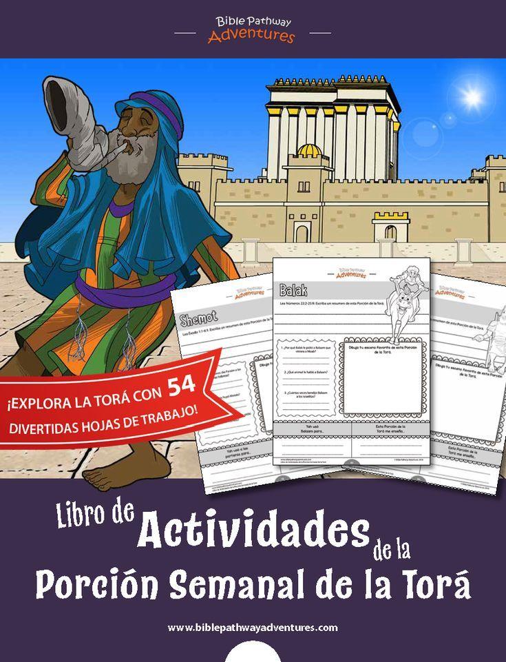 Libro de Actividades de la Porción Semanal de la Torá ...