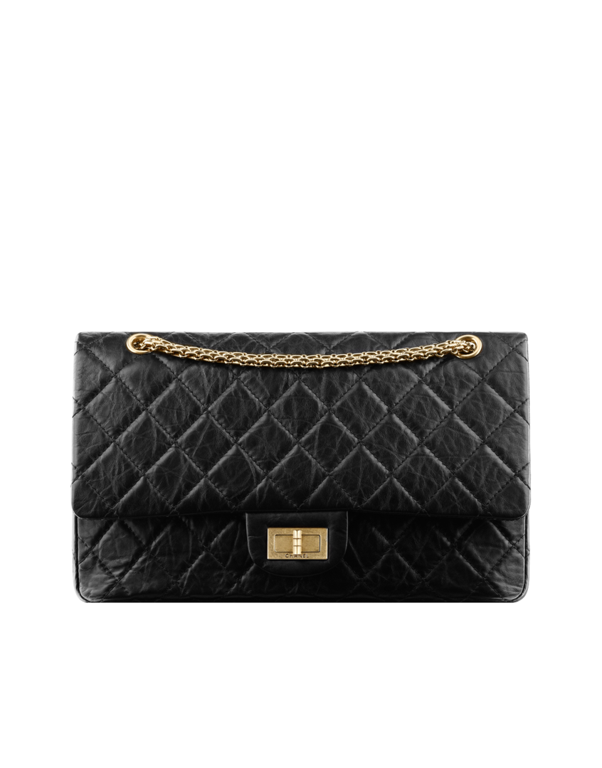 eab54eabb5ac Large 2.55 flap bag in quilted... - CHANEL | Father Christmas ...
