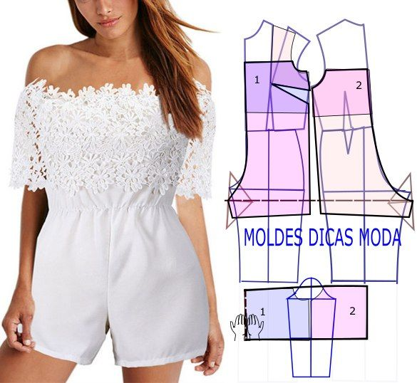 Moldes para hacer jumpers y jumpsuit para dama06   costura /sewing ...