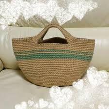 麻ひも バッグ 編み図에 대한 이미지 검색결과