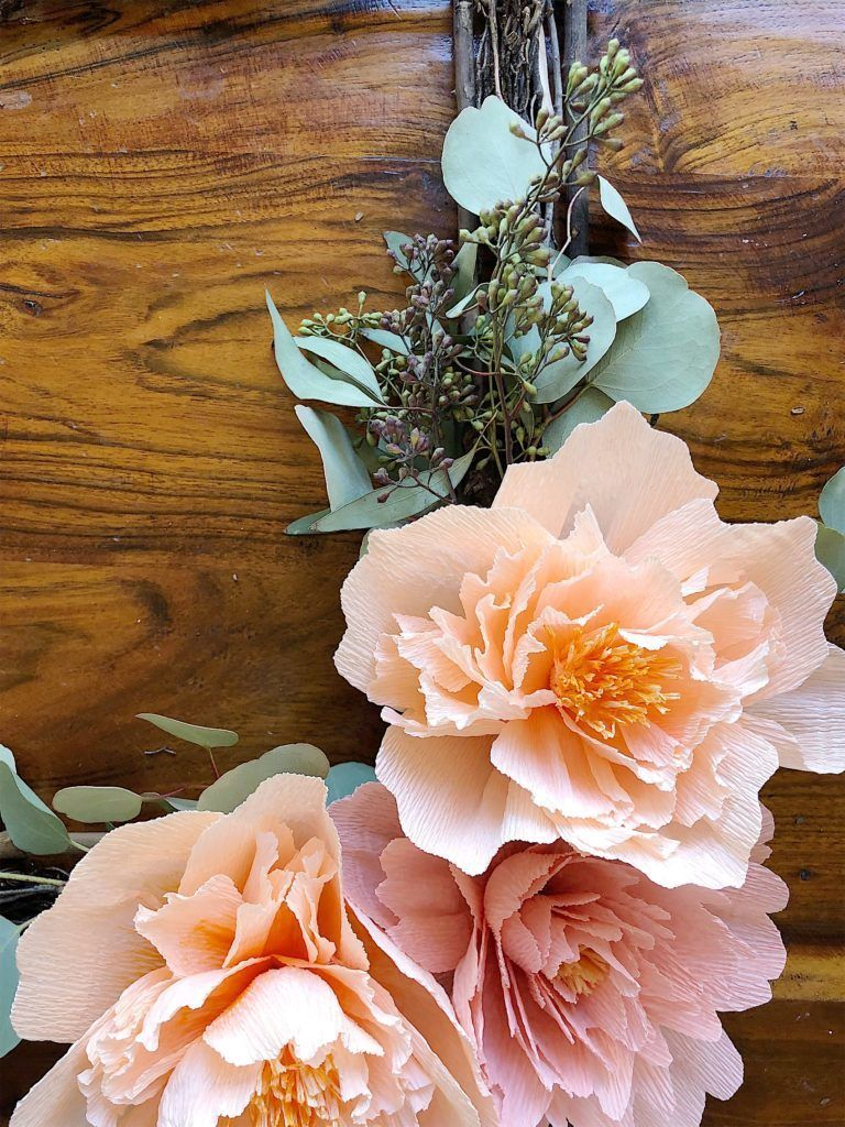 Watch a Video About How to Make Crepe Paper Flowers