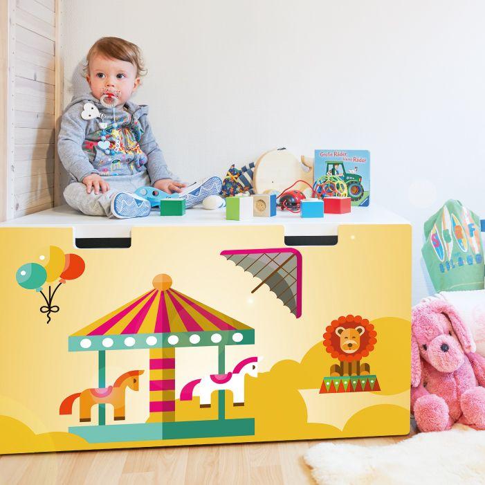 Möbelfolie IKEA Stuva / Malad Banktruhe Design