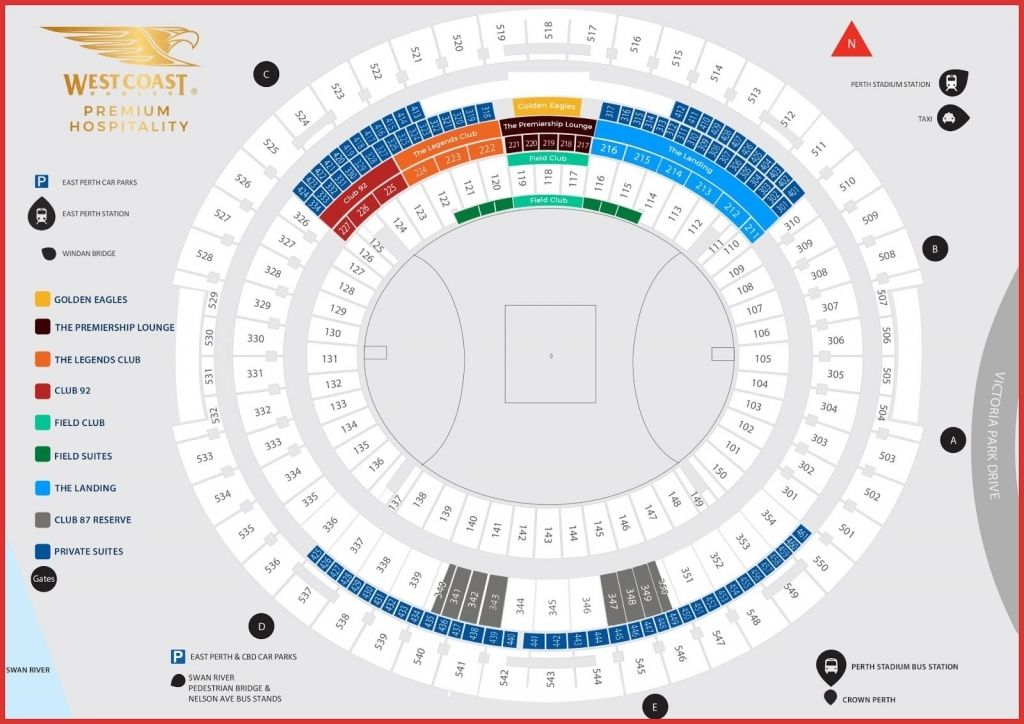 The Brilliant Optus Seating Plan