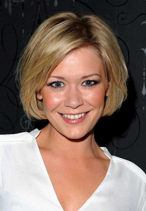 10 cute bobs for round faces bob hairstyles 2015 short