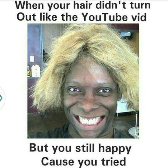 Pin By Savia Ali On Random Natural Hair Memes Hair Humor Human Hair Lace Wigs
