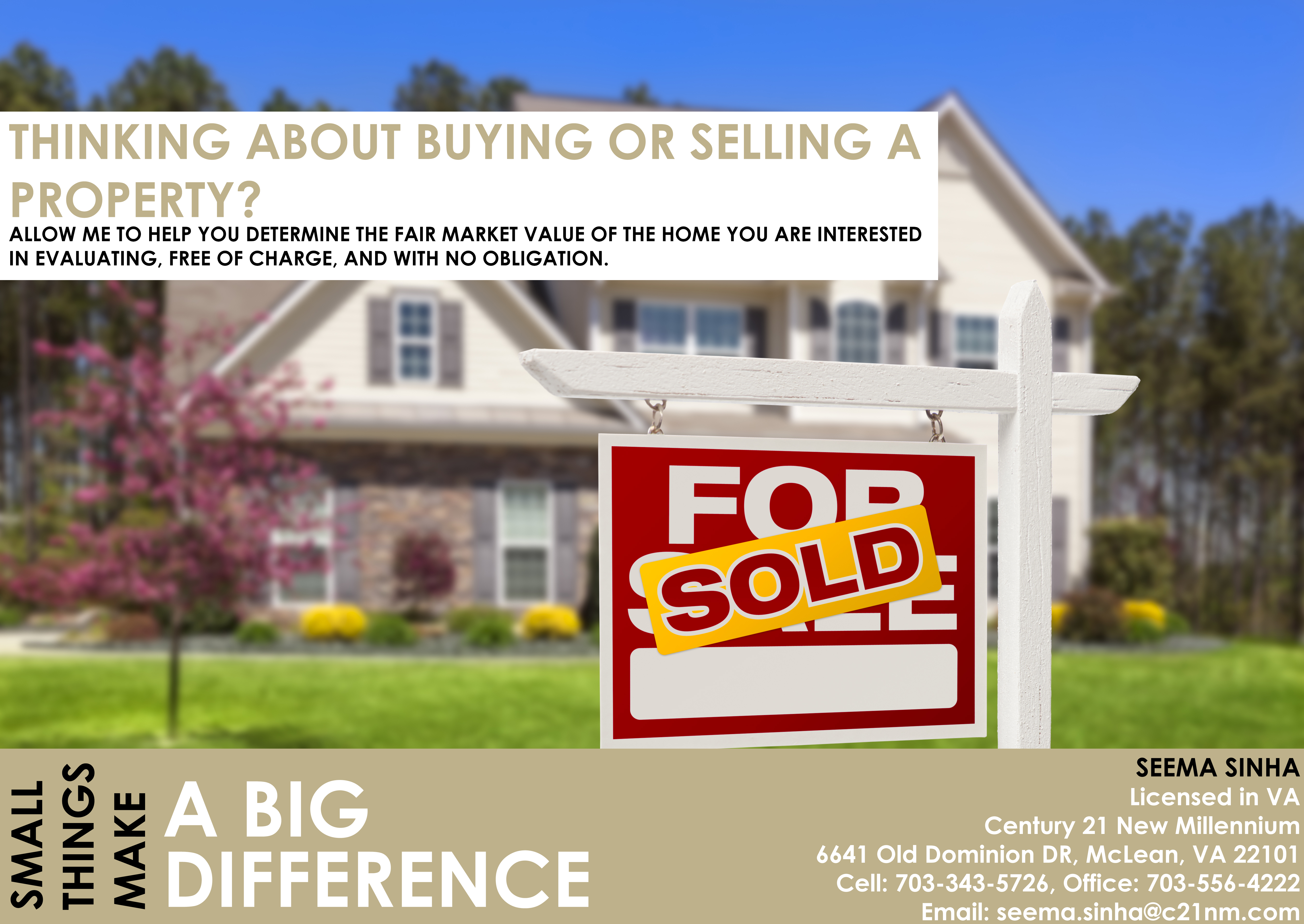 Thinking about buying or selling a property? Contact Us