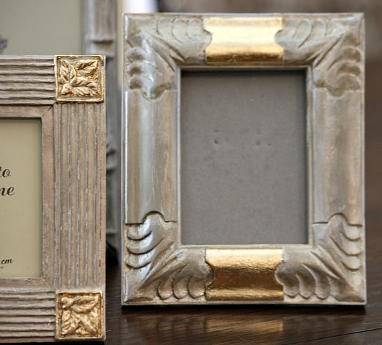 Painted Picture Frames Gold Images