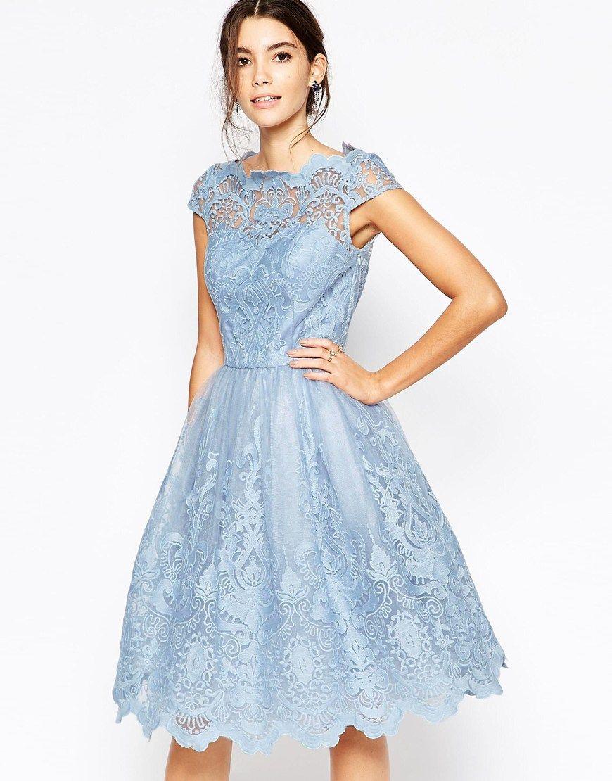 Image 2 of chi chi london premium lace midi prom dress with bardot shop chi chi london premium lace midi prom dress with bardot neck at asos ombrellifo Choice Image