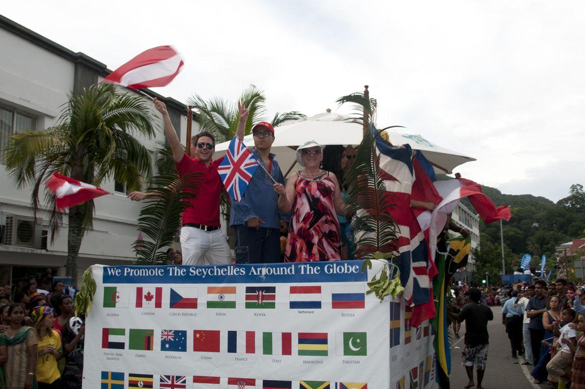 Carnaval International de Victoria, Mahe, Seychelles